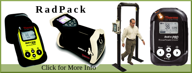 Owens Scientific presents the RadPack with TPM-903B Portal Monitor